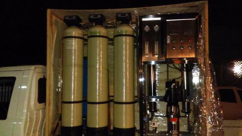 planta purificadora agua sist. ósmosis iva inc., uv y ozono
