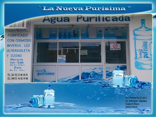 planta purificadora c/osmosis $61,900.00,sin anticipos