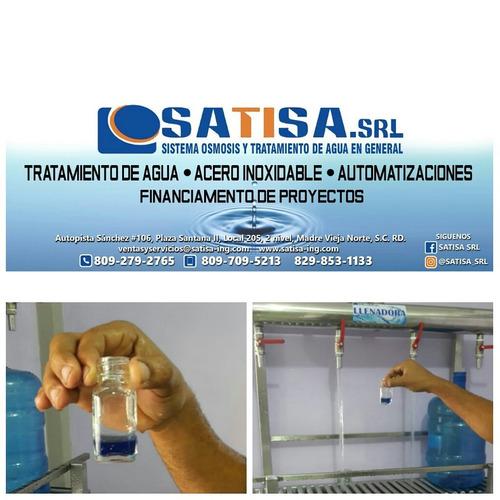 planta purificadora de agua con instalación completa