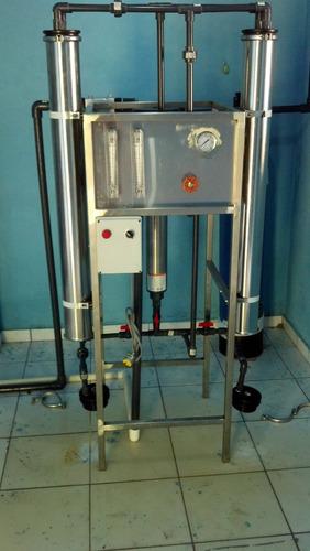 planta purificadora de agua con ósmosis inversa