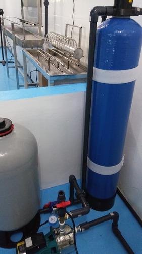planta purificadora de agua y embotelladora