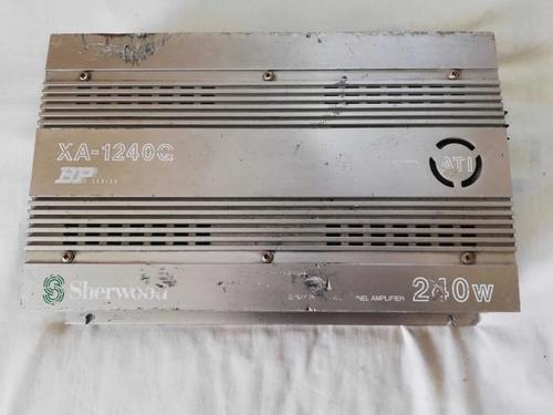planta sherwood power xa-1240q- 240 watts x 4 canales