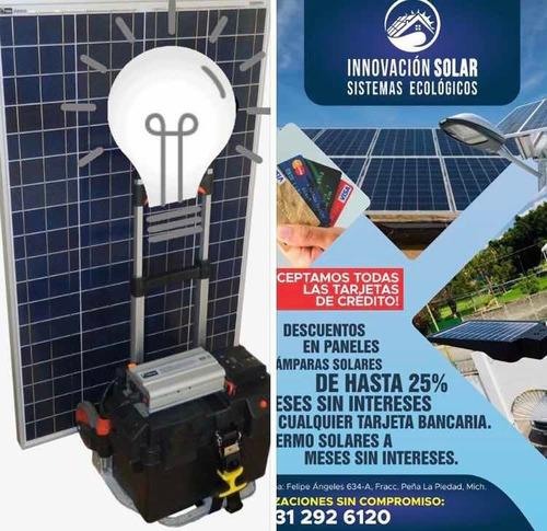 planta solar ! electricidad gratis