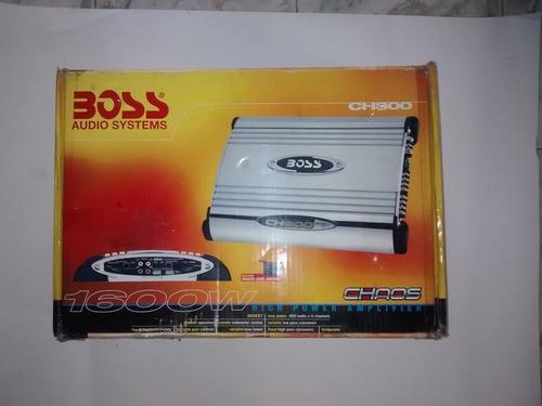 planta sonido boss original 1600w 4 canales mdo. th800 nueva
