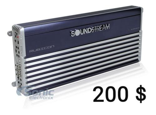 planta soundstream 5 chanel 800 wts rms nuevas tienda 200vds