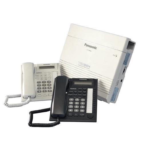 planta telefonica panasonic kx-tes824 + telefono secretarial