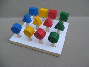 Plantado De Figuras Geometricas Material Didáctico
