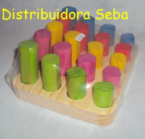 plantado seriación clasificación tamaño color mat.didactico