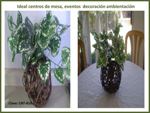 plantas artificiales  3 piezas
