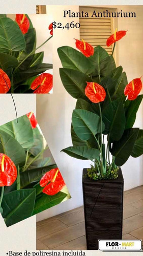 plantas artificiales de apariencia real al tacto y vista