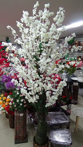 plantas artificiales decorativa orquídeas cactus burros