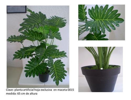 plantas artificiales  elegante en maceta