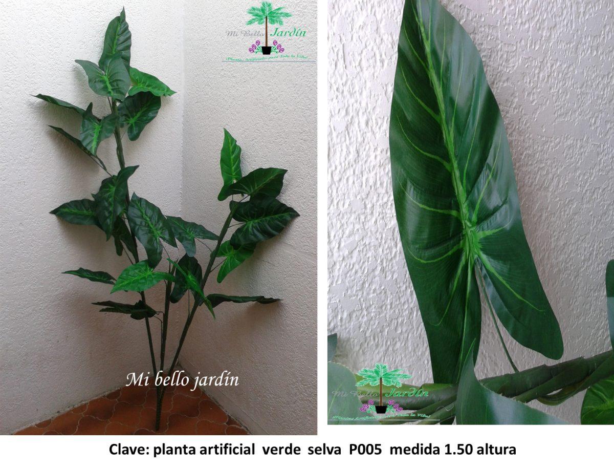 Plantas artificiales verdes 1 en mercado libre - Plantas artificiales ...