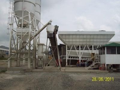 plantas de concreto pre-mezclado