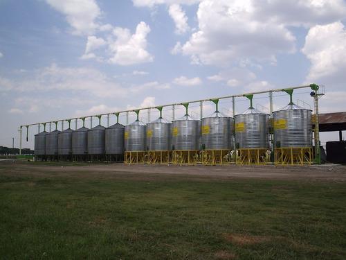 plantas de silos, raciones y fertilizantes