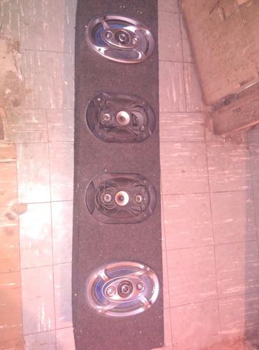 plantas de sonido y cornetas y bajos  para carro