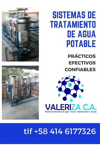 plantas de tratamiento de agua potable filtros tanques uv
