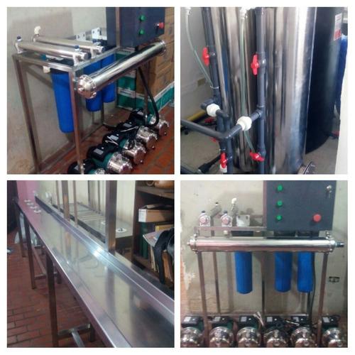 plantas de tratamiento para agua potable. ultrafiltración