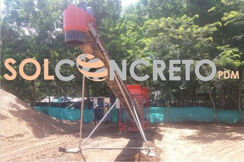 plantas dosificadoras y mezcladoras de concreto