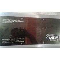 Planta Lanzar Vibe 257 De 2 Canales 1600 Watt Pro Series