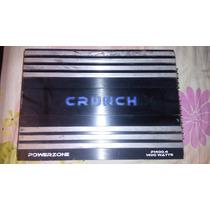 Planta Amplificador Americana Crunch 4 Canales 1400w