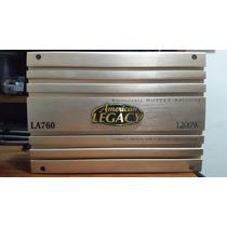 Planta Amplificador De 1200 W. 4 Canales. American Legacy