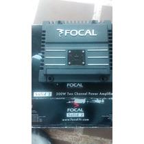 Planta /amplificador Focal 2 Canales Clase A/b
