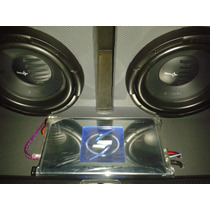 Planta Lighthing Audio Strike 1000.1d Monoblock 2000 Watts