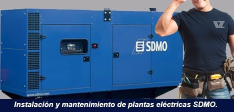 plantas eléctricas sdmo 100kva y 125kva 2 años de garantía