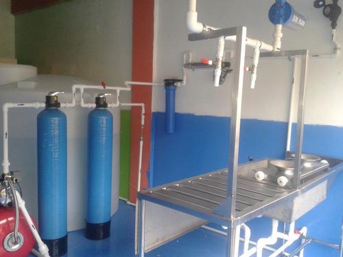 plantas purificadoras agua