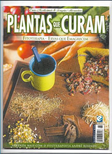plantas que curam ervas que emagrecem revista ed 6