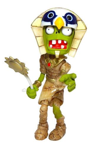 plantas vs zombies figura zombie faraon luz led 25cm