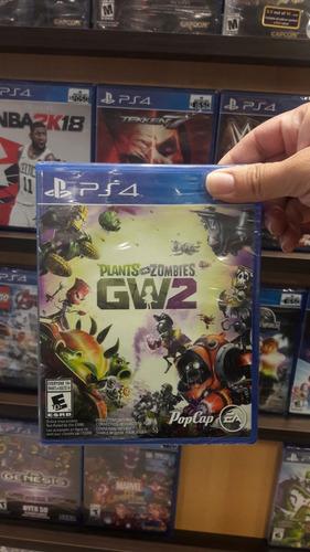 plantas vs. zombies: garden warfare 2 ps4 (juego sellado)