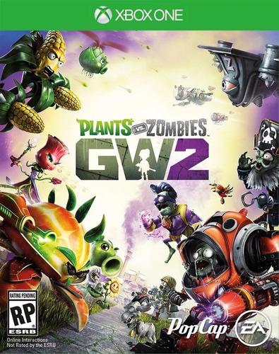 plantas vs zombies garden warfare 2 xbox one nuevo físico