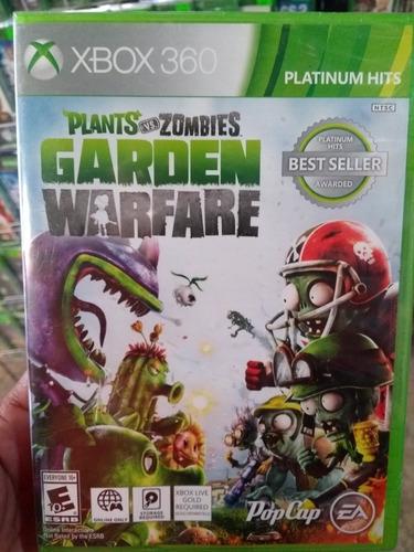 plantas vs zombies garden warfare xbox 360 (en d3 gamers)