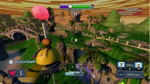 plantas vs zombies juego ps4 nuevo y sellado