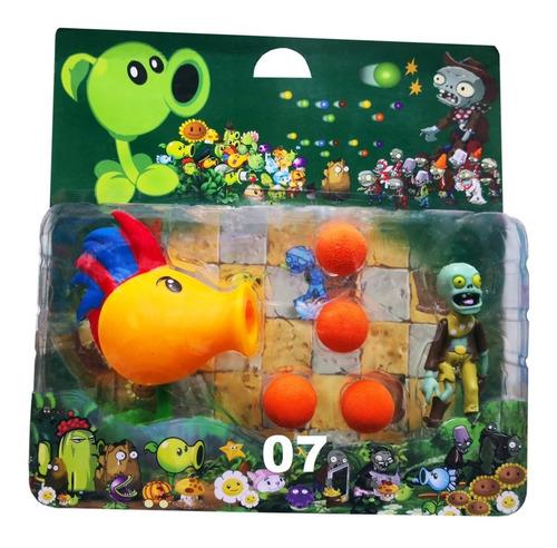 plantas vs zombies - muñecos, personajes precio insuperable.