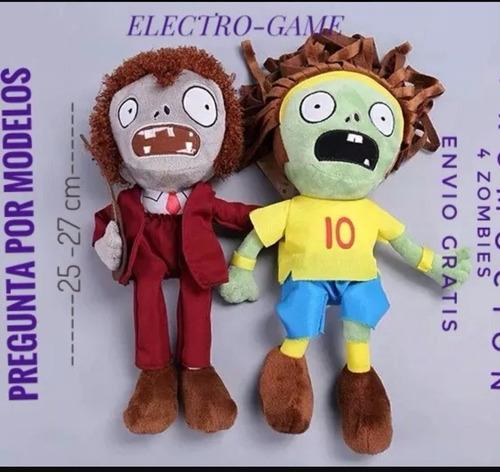 plantas vs zombies. personajes de peluche-calidad-importacio