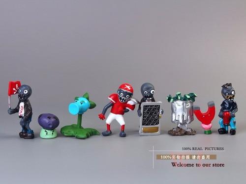 plantas vs zombies10 figuras pvc envio a48