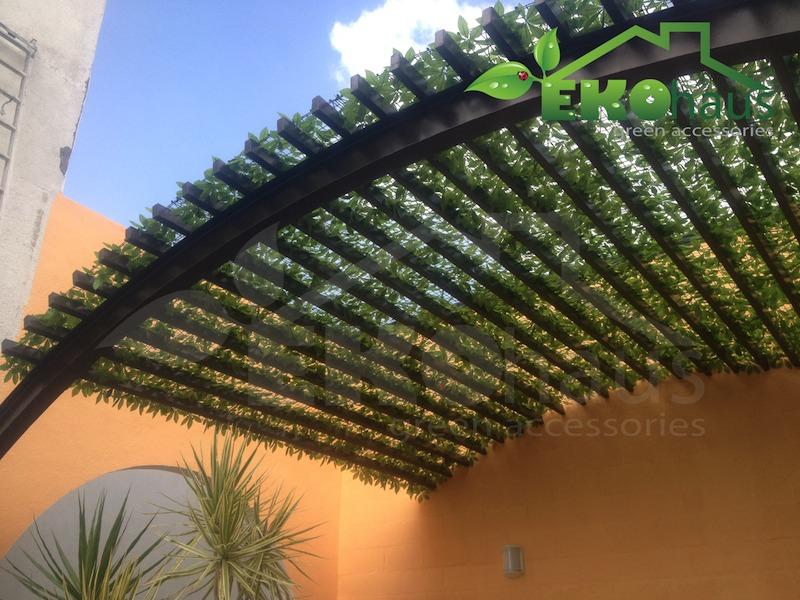 Plantas y follaje artificial decoracion para exterior for Plantas artificiales para exterior