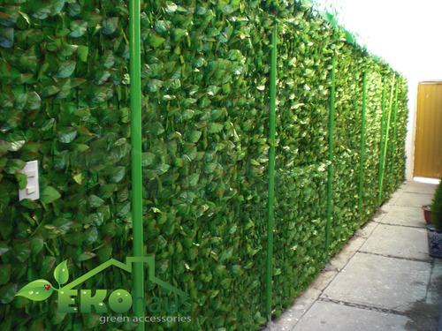 plantas y follaje artificial, decoracion para exterior
