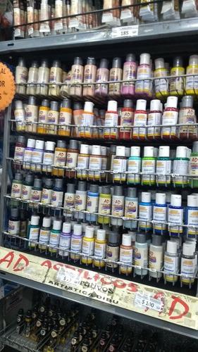 plantec colores acrílico 50ml  x 50 potes