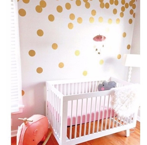 plantilla circulos vinilos y stickers decorativos infantiles