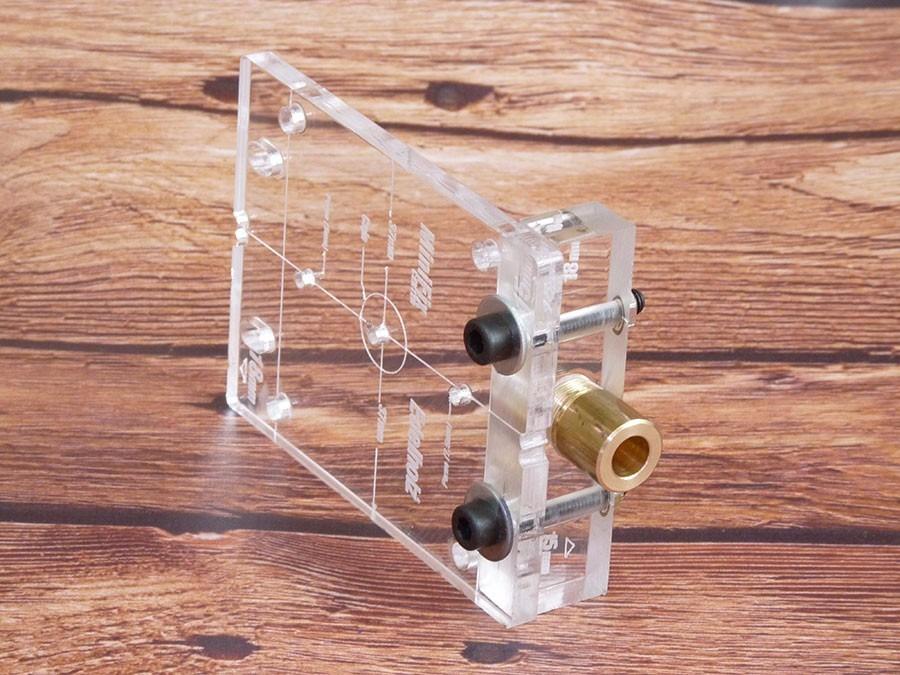 Plantilla Colocación Minifix (espesores 15mm - 18mm) - $ 1.440,00 en ...