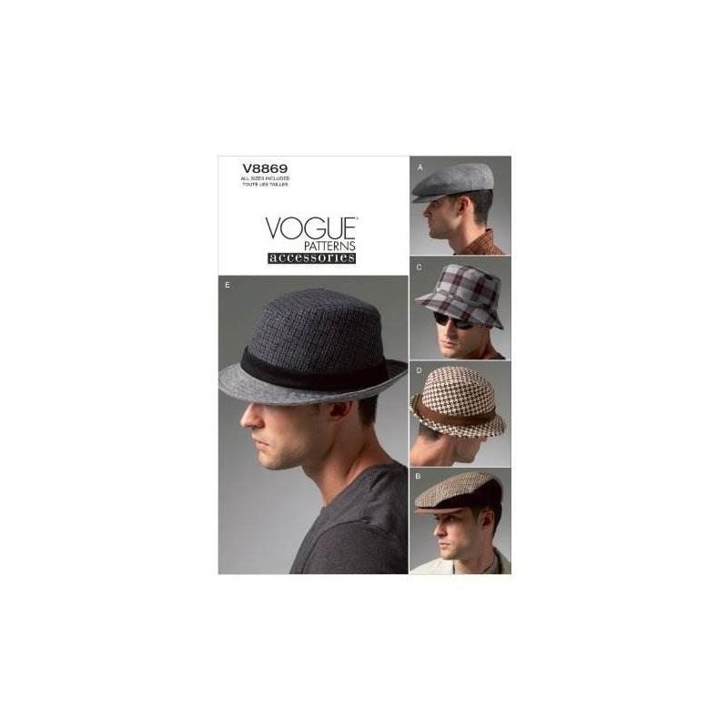 Plantilla De Costura Vogue Patrones V8869 Para Hombre, Todos ...