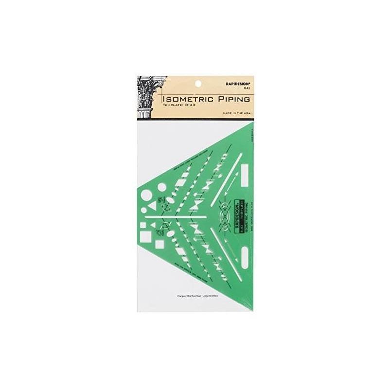 Plantilla De Tubería Isométrica Rapidesign, 1 Cada (r43) - $ 85.760 ...