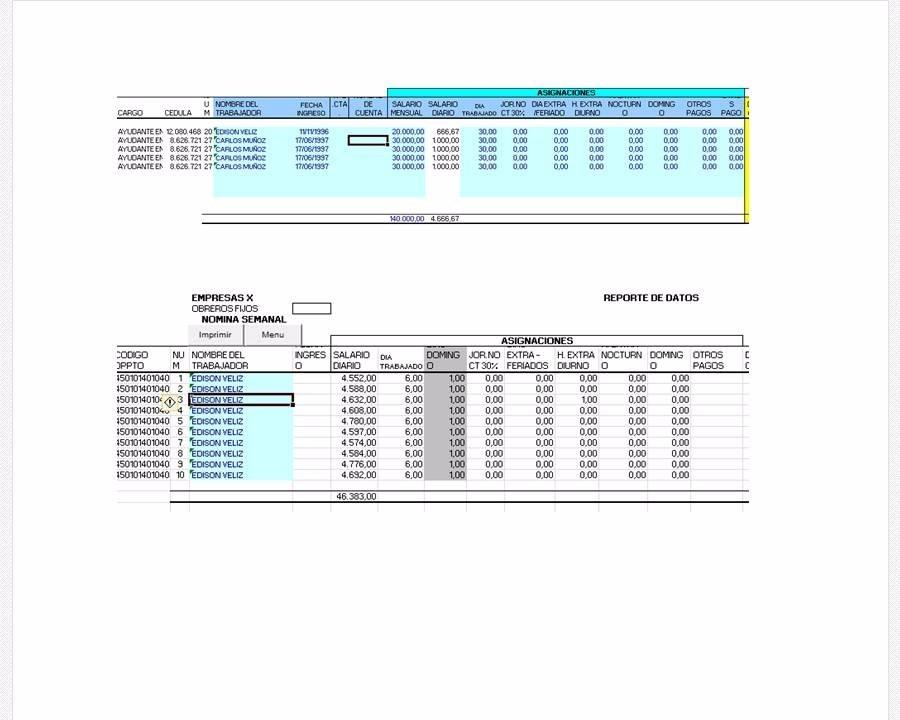 formato de nmina en excel gratis 2016 formato de nmina en