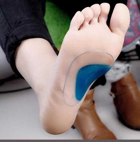 plantilla en silicona para pie plano talla s niños
