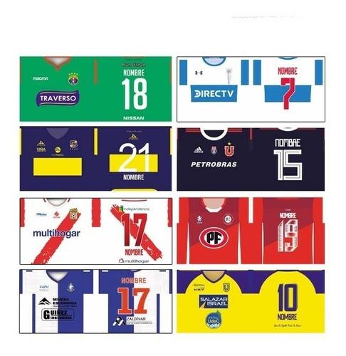 plantilla equipo futbol chileno 2019 sublimar taza + fuente