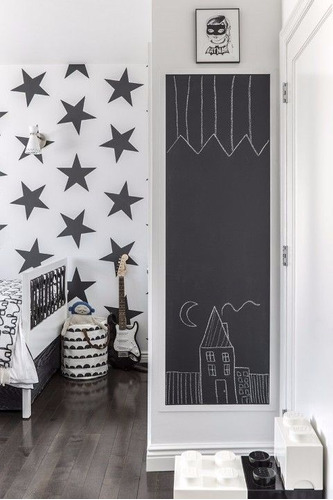 plantilla estrellas vinilos stickers decorativos infantiles